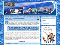 Segundo layout do a.k.a. Ikki!! em servidor próprio (2010)