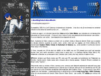 Primeiro Layout do a.k.a. Ikki!! no Weblogger