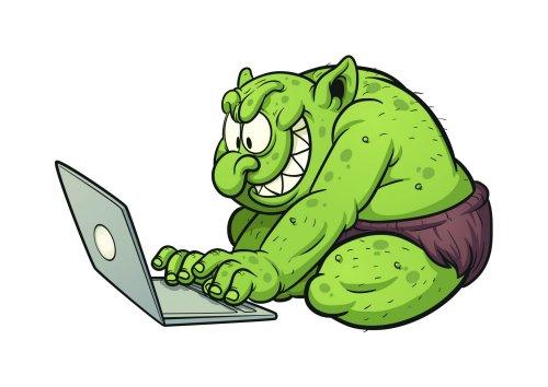 Apenas um troll trollando (imagem ilustrativa)