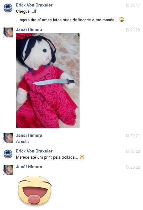 ...porque a piada foi tão foda que não podia ficar só no meu Facebook!!