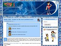 Terceiro layout do a.k.a. Ikki!! em servidor próprio (2011)